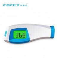 Безконтактен инфрачервен термометър за чело Cocet 3в1