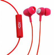ACC+ Earphones Soul 2 red