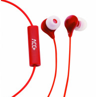 ACC+ Stereo Earphones Soul Red