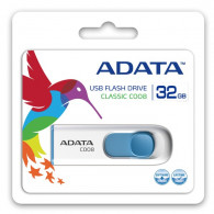 Adata C008 32GB White-Blue