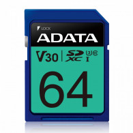 Adata Memory card SDXC PremierPro 64GB UHS-I U3 V30 100/80 MB/s