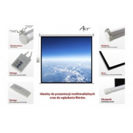 """ART An electric screen 16: 9 119 """"with the remote control 264x147cm FS-119 16 9"""