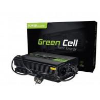 Green Cell Converter 12V na 230V 300W/600W czysty sinus
