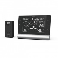 Hama Weather station Black Line Plus
