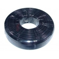 Gembird Flat telephone cable stranded wire 100 meters black