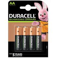 Duracell Akumulator AA/LR6 2400/2500mAh 4szt blister