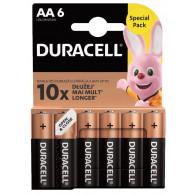 Duracell Basic AA/LR6 blister 6pcs