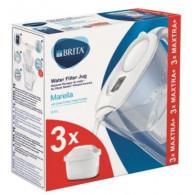 Brita Filter jug Marella MXplus white + 3 refills