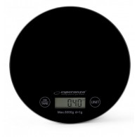 Esperanza Digital Kitchen Scale MANGO BLACK EKS003K