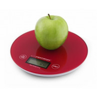 Esperanza Digital Kitchen Scale MANGO RED EKS003R
