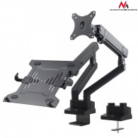 Maclean Double Stand For Monitor Notebook MC-813