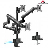 Maclean Triple Stand For 3 Monitor Screens MC-811
