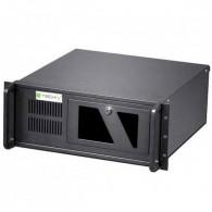 Techly PC Case ATX Rack 19 inch 4U, black