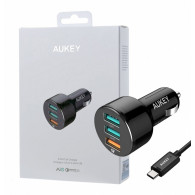 AUKEY CC-T11 Car Charge r 3xUSB Quick Charge 3.0