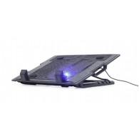 Gembird Notebook cooling stand 17 + fan