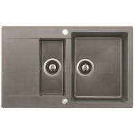 TEKA Clivo 60 B-TQ metalic aluminium kitchen sink