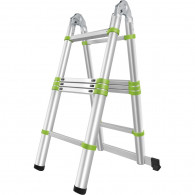 Fieldmann FZZ 4003 Telescopic ladder 3,2m, steps 1.6m