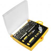 Fieldmann FDG 5004-79R set bits 4 and 6 mm CR-V, screwdriver rattle