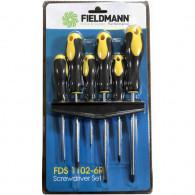 Fieldmann Set of 6 FDS 1102-6R screwdrivers