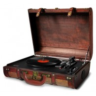 Turntable suitcase