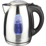 Adler AD 1223 electric kettle 1.7 L Black,Stainless steel 2200 W