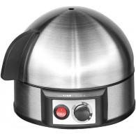 Clatronic EK 3321 egg cooker 7 egg(s) 400 W Black, Stainless steel