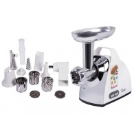 Meat grinder Saturn  ST-FP0094K (1600 W; silver color, white color)