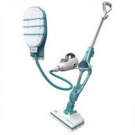 Black & Decker 9IN1 Steam-mop Upright steam cleaner 0.5 L Turquoise,White 1300 W