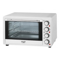 Adler AD6001 toaster oven 35 L White Grill 1500 W
