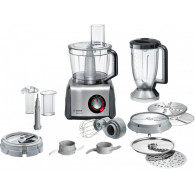 Bosch MC812M865 food processor 3.9 L Black, Stainless steel