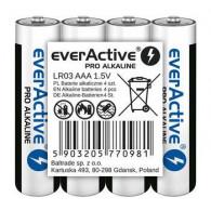Alkaline batteries AAA / LR03 everActive Pro 4 pcs