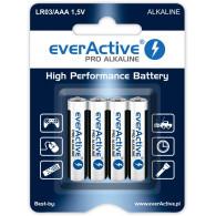 Alkaline batteries everActive Pro Alkaline LR6 AA - blister card - 4 pieces