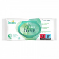 Pampers Baby Wipes 81690414  Aqua Pure 9 Packs = 432 Wipes