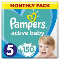 Pampers Active-Baby Monthly Box 150 pc(s)