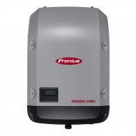 Fronius Symo 3.0-3-M power adapter/inverter Indoor 3000 W Black, Gray