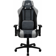 Aerocool BARON AeroSuede Universal gaming chair Blue, Grey
