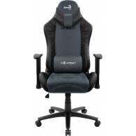 Aerocool KNIGHT AeroSuede Universal gaming chair Black, Blue