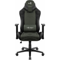 Aerocool KNIGHT AeroSuede Universal gaming chair Black, Green