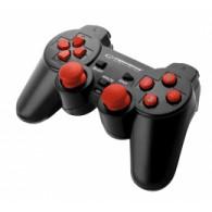 Esperanza EGG102R Gaming Controller Black, Red USB 2.0 Gamepad Analogue / Digital PC