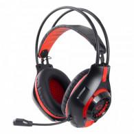Esperanza EGH420R Headphones with microphone Headband Black, Red