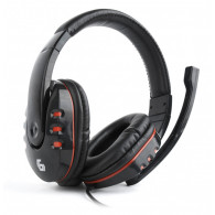 Gembird GHS-402 headphones/headset Head-band Black