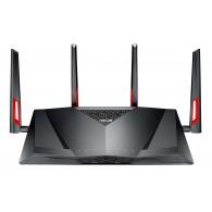 ASUS DSL-AC88U wireless router Gigabit Ethernet Dual-band (2.4 GHz / 5 GHz) Black