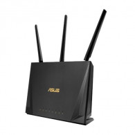ASUS RT-AC65P wireless router Dual-band (2.4 GHz / 5 GHz) Gigabit Ethernet Black