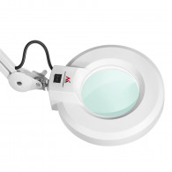 Maclean Energy MCE146 LED Magnifying Lamp Magnifying Lamp Work Lamp 5 Dioptre Lens Stand Magnifier
