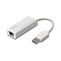 Digitus DN-3023 cable interface/gender adapter USB RJ-45 White