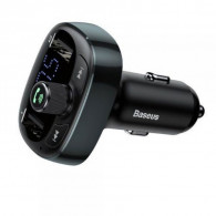 Baseus CCTM-01 FM transmitter 87.5 - 108 MHz Cigar lighter Black