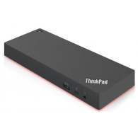 Lenovo 40AN0135EU notebook dock/port replicator Wired Thunderbolt 3 Black,Red