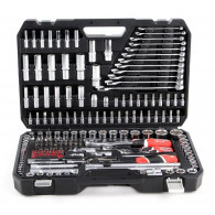 "YATO YT-38841 1/4"", 3/8"", 1/2"" Socket wrench set"