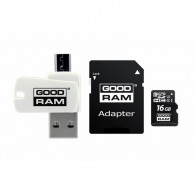 Goodram M1A4-0160R12 memory card 16 GB MicroSDHC Class 10 UHS-I