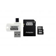 Goodram M1A4-0320R12 memory card 32 GB MicroSDHC Class 10 UHS-I